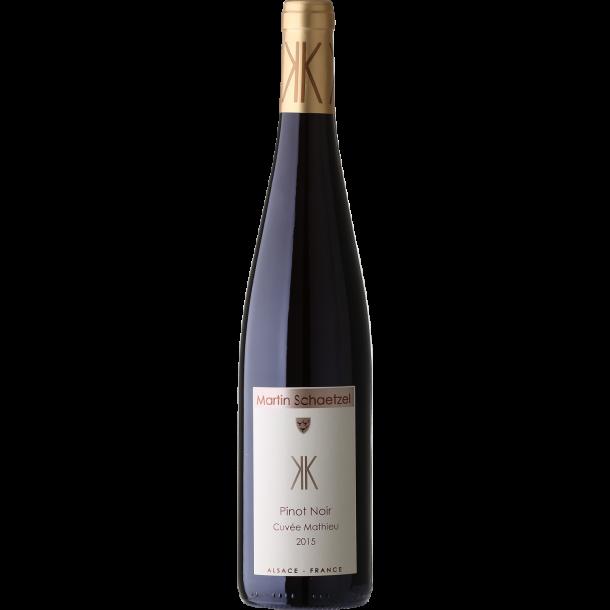 2015 Pinot Noir, Alsace, Cuvée Mathieu, 'bio', Martin Schaetzel