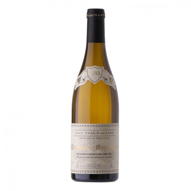 2013 Chassagne Montrachet 1. Cru Blanc, Blanchots Dessus, 'bio', Jean Noël Gagnard